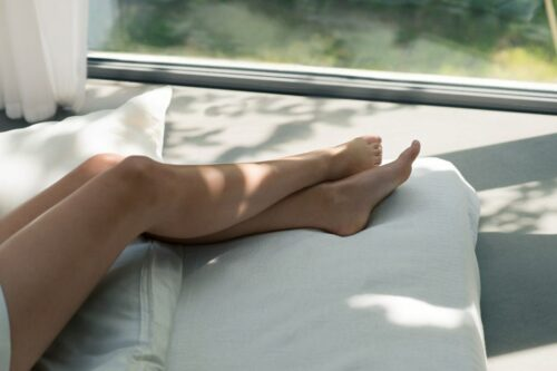 Mijn spierwitte benen verlangen naar zon!